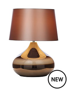 glazed-ceramic-table-lamp-chocolate