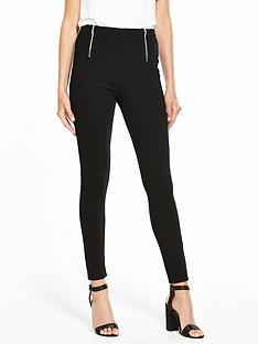v-by-very-zip-detail-ponti-legging