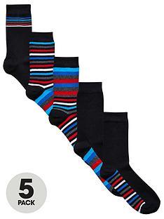 v-by-very-5-pk-multi-stripe-socks-multi
