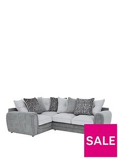 mosaic-fabric-left-hand-double-arm-corner-group-sofa