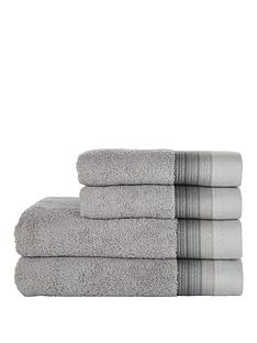 ideal-home-silver-ombre-4-piece-towel-bale