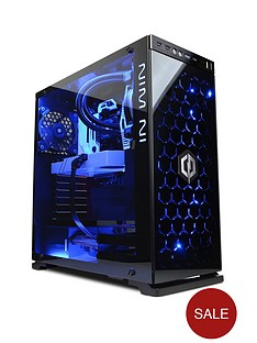 cyberpower-luxe-vr-titanium-intelreg-coretrade-i7k-16gb-ramnbsp1tb-hdd-amp-240gb-ssd-vr-ready-gaming-pc-with-11gbnbspgeforcenbspgtx-1080ti-graphics