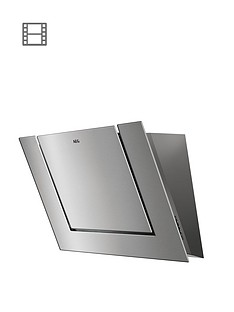 aeg-dvb3850m-80cm-screen-cooker-hood-stainless-steel