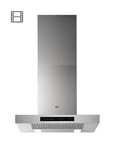 aeg-dbb5660hm-60cm-box-wall-cooker-hood-stainless-steel