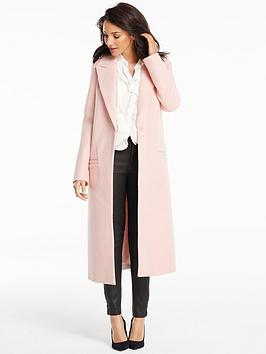 michelle-keegan-longlinenbspedge-to-edge-coat