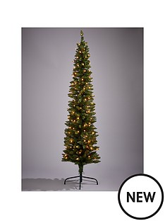 pre-lit-pencil-christmas-tree-6ft
