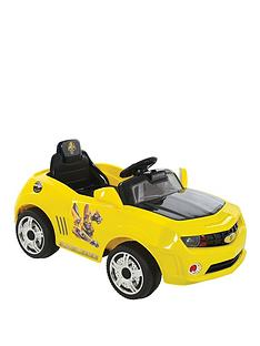 bf399e53c3479c Transformers 6V Battery Operated Bumblebee Car