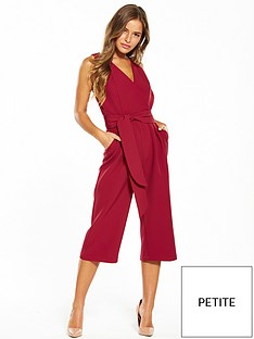 lost-ink-petite-cropped-jumpsuit-red