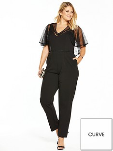 lost-ink-curve-mesh-sleeve-jumpsuit