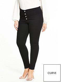 lost-ink-curve-lost-ink-curve-black-button-front-jegging