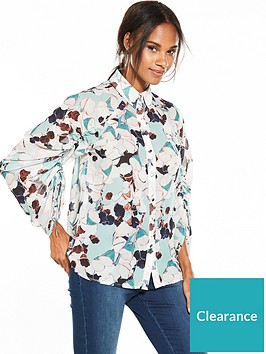 lost-ink-lost-ink-bluebell-floral-print-drawstring-shirt