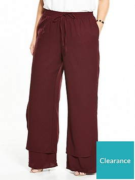lost-ink-plus-lost-ink-curve-wide-leg-trouser-with-double-layer