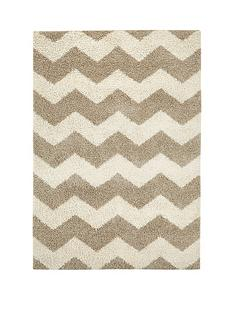 ideal-home-shaggy-chevron-rug