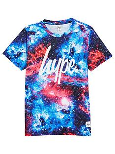 hype-boys-red-space-print-t-shirt