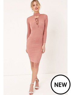 girls-on-film-lace-up-midi-dress-dusty-pink