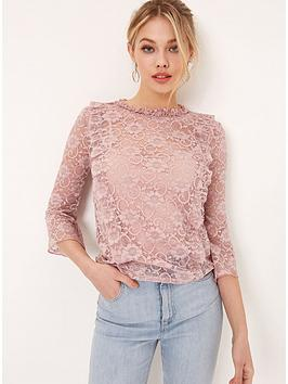 girls-on-film-lace-flute-sleeve-top-dusty-pink