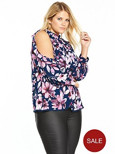 v-by-very-curve-cold-shoulder-ruffle-blouse