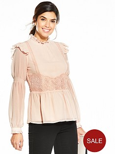 v-by-very-crochet-detail-blouse