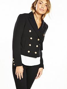 v-by-very-military-crop-jacket-black
