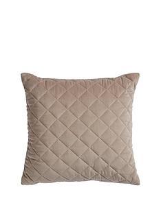 1600184331: Myleene Klass Home Quilted Velvet Cushion