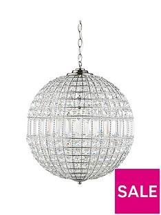 luxe-collection-solara-crystal-ball-pendant-light