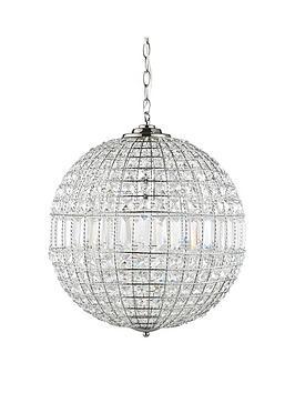 Luxe collection solara crystal ball pendant light luxe collection solara crystal ball pendant light littlewoodsireland aloadofball Images