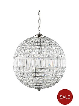 Luxe collection solara crystal ball pendant light luxe collection solara crystal ball pendant light littlewoodsireland aloadofball Image collections
