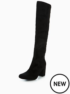 wallis-wallis-harmonica-lace-up-heeled-knee-boot
