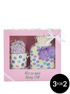 sugar-candy-warm-amp-snug-set-with-hot-water-bottle-socks-amp-mug