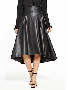 v-by-very-high-low-pu-skirt