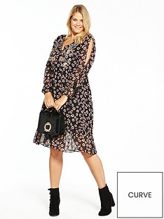 v-by-very-curve-printed-embroidered-midi-dress