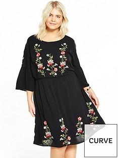 junarose-silla-dress-black