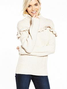 yas-andrea-knit-top-cream