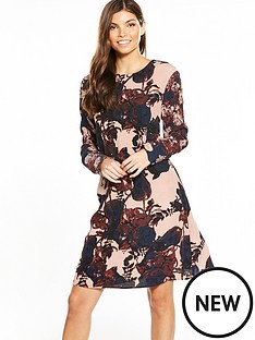 yas-tulip-mix-dress