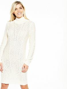 vila-octana-long-sleeve-knit-dress