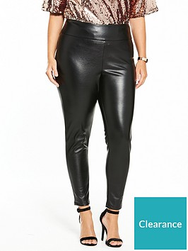 v-by-very-curve-body-sculpt-pu-zip-detail-trouser