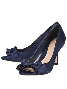 phase-eight-fiona-satin-peep-toe-navy
