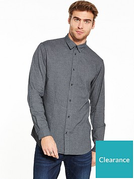 selected-homme-long-sleeve-checked-shirt