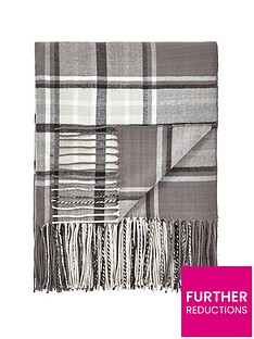 ideal-home-henley-soft-check-throw