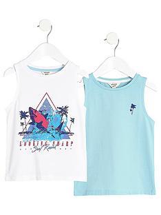 river-island-mini-boys-white-print-vest-multipack