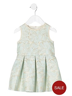 river-island-mini-girls-cream-floral-jacquard-prom-dress
