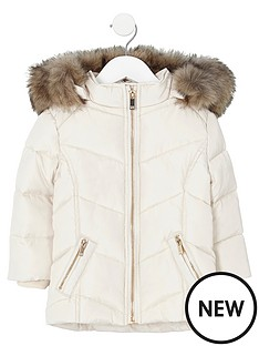 river-island-mini-girls-cream-fur-trim-padded-coat