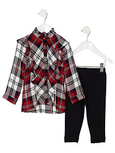 river-island-mini-girls-check-shirt-and-leggings-outfit