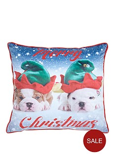 catherine-lansfield-christmas-animal-cushion