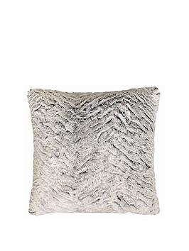 catherine-lansfield-faux-fur-wolf-cushion