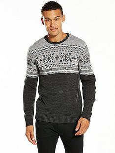 v-by-very-chest-panel-snowflake-jumper