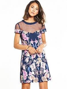 little-mistress-lace-botanical-shift-dress-navy