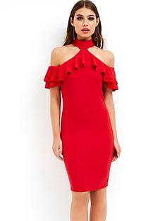 girls-on-film-girls-on-film-ruffle-front-halterneck-bodycon-dress