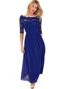little-mistress-long-sleeve-maxi-dress-cobalt