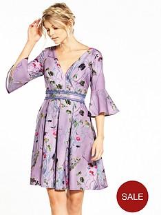 little-mistress-petite-wild-flower-print-shift-dress